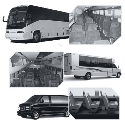 Charlotte Coach Bus rental