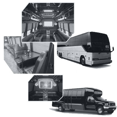 Party Bus rental and Limobus rental in Charlotte, NC