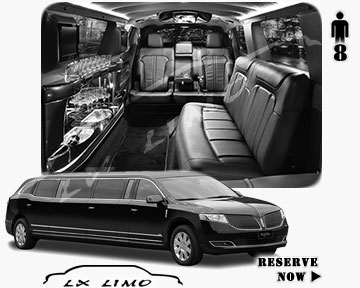 Stretch Wedding Limo for hire in Charlotte, ON, Canada