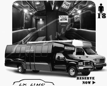 Charlotte Party Bus party Bus | 18 passenger PartyBus in Charlotte